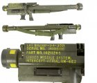 "US XM-41E2 ""REDEYE"" ANTI-AIRCRAFT MISSILE LAUNCHER, INERT"
