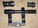 East German ZFK 4X25 AK74 Scope Set