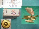 8X56R Ammo Steyr M95 and M95/34 10 Rds Nazi