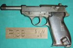 P38 French Gray Ghost SVW45 9mm Pistol
