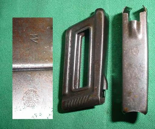 Loading Clip, Hungarian Marked QTY , M95/34 Steyr 8X56R Carbine - Click Image to Close