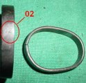 Barrel Band Rear -HUNGARY 02 - M38 M44 M91/30 Mosin Nagant
