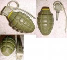 Norwegian Mk2 Pineapple Grenade