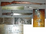 Canadian Ross 1905 .303 Rifle US Marked with Bayonet
