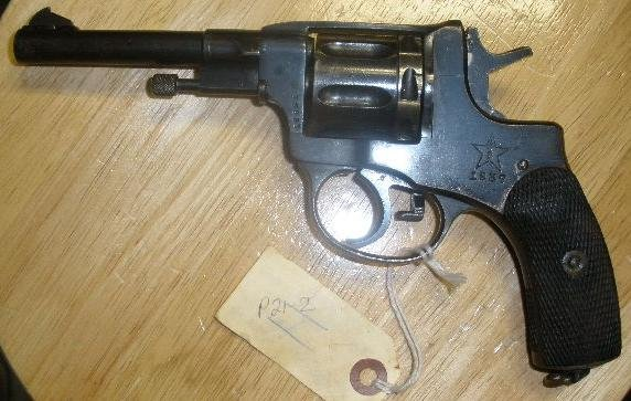 Russian M1895 Nagant Revolver 7.62x38r 1937 Tula Non-Import - Click Image to Close