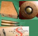 Ammunition 10rd Box, Hungarian, 8X56R M95/34 Steyr Carbine