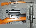 Swiss ZFK55 Sniper Rifle Caliber 7.5x55 Swiss
