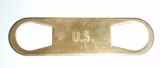 Wrench, 1911 Barrel Bushing, Brass