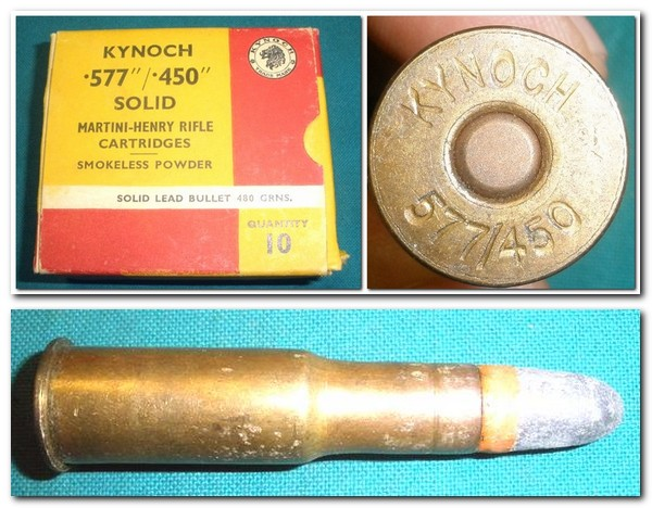 .577/.450 Ammunition Kynoch 10 Rounds