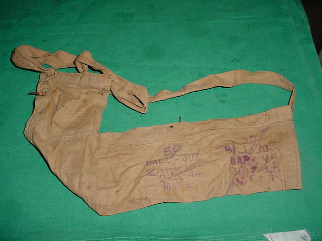 Bandolier British Cloth USED with WWII Dates