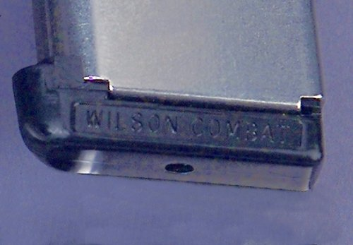 BASE PAD, MAGAZINE STD .350 BLACK WILSON COMBAT 1911 45ACP