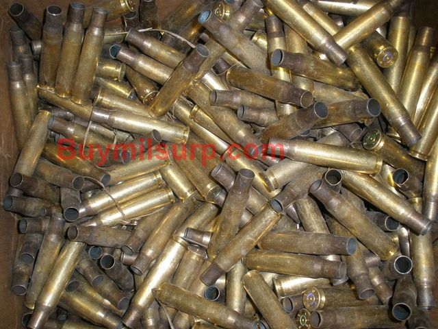 .50 BMG Once Fired Brass QTY 100