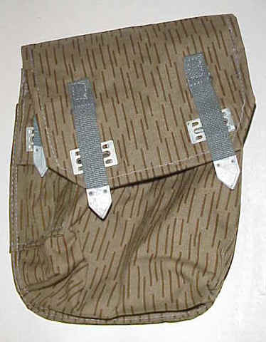 AK Drum Pouch East German Raindrop Pattern Excellent