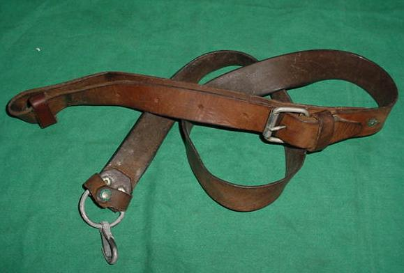 Sling, Leather, USED AK Rifle