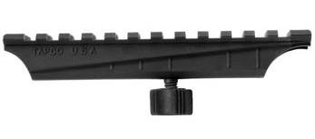 TAPCO AR15 / M16 Carry Handle Mount BLACK