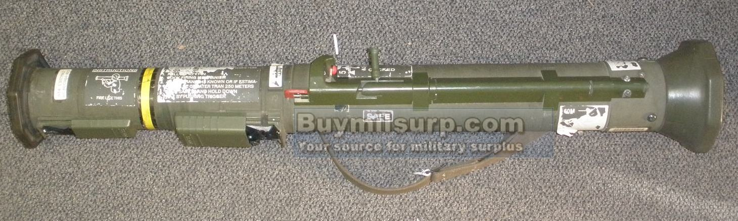 M136 AT4 Anti Armor Weapon, INERT DISPLAY - Click Image to Close