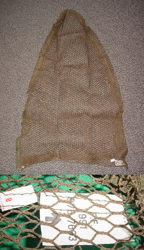 British Sniper Veil, UNISSUED Broad Arrow Tag
