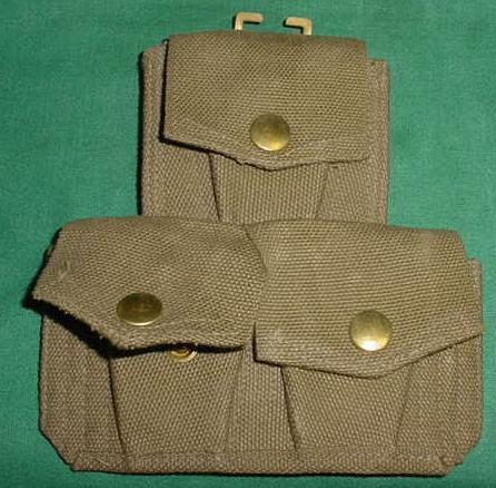 .303 British 3 Pocket Pouch OD