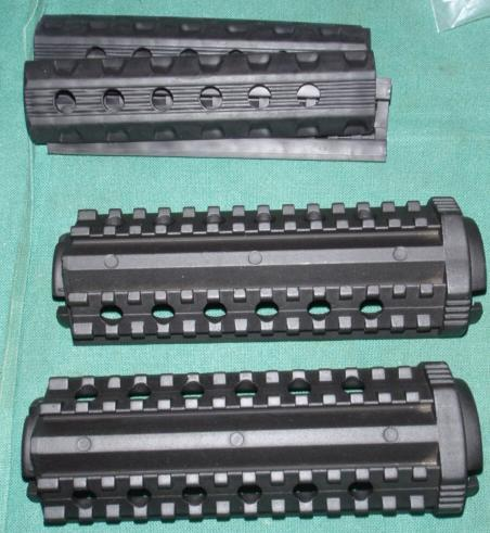 Handguard M4 Aluminum with Covers