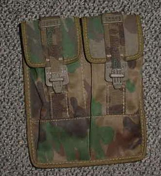 Camo 2 Pocket Magazine Pouch
