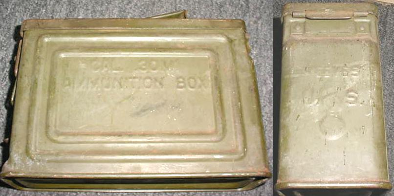 Ammo Can 30 Cal Flaming Bomb Marked
