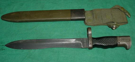 Spanish CETME , FR7 and FR8 Bayonet and Scabbard