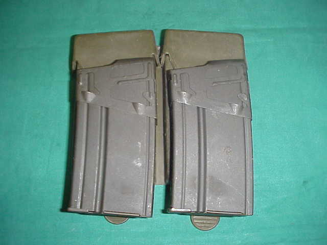 Magazine Set Spanish CETME ( Two 20rd Mags and Pouch )