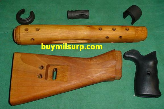 Stock Set Spanish CETME Rifle with Handguard Metal & Flash Hider