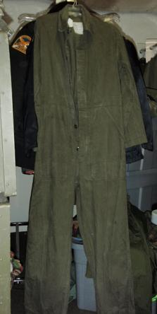 Coveralls Mil-Surp European Sizes 48-52 (Not US Sizes) QTY 1