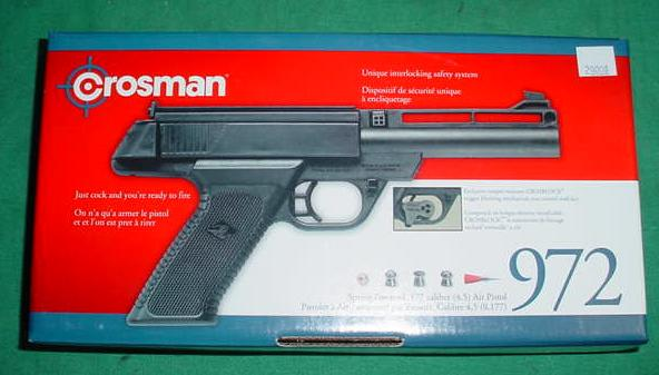 Crossman 972 Spring Powered Air Pistol