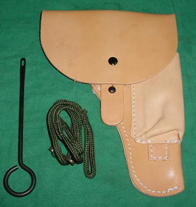 Accessory Set CZ-52 Holster, Lanyard and Cleaning Rod Excellent