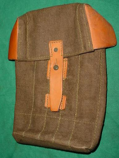 Czech Magazine Pouch, Holds 5 Stick Magazines