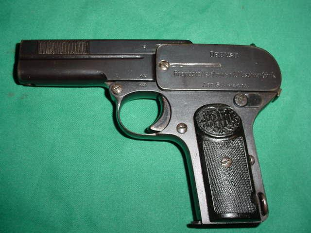 German DREYSE 1907 7.65 Pistol