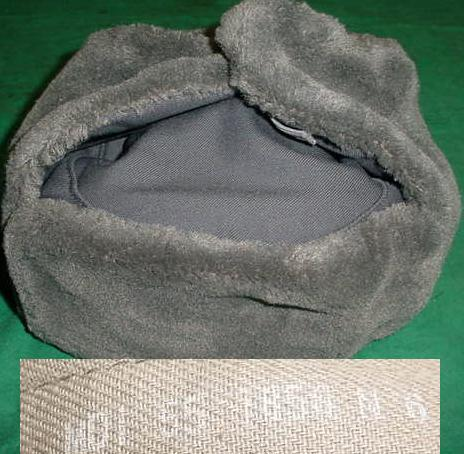 East German USHANKA SMALL SIZES ONLY 55/56