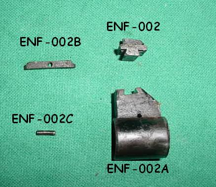 Front Sight Base Key, Lee Enfield No 1 Mk III 303 - Part # 002B