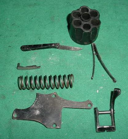 Enfield Revolver Parts Lot, Cylinder and More