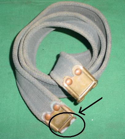 Sling Enfield Gray Used, Missing clasp on one end