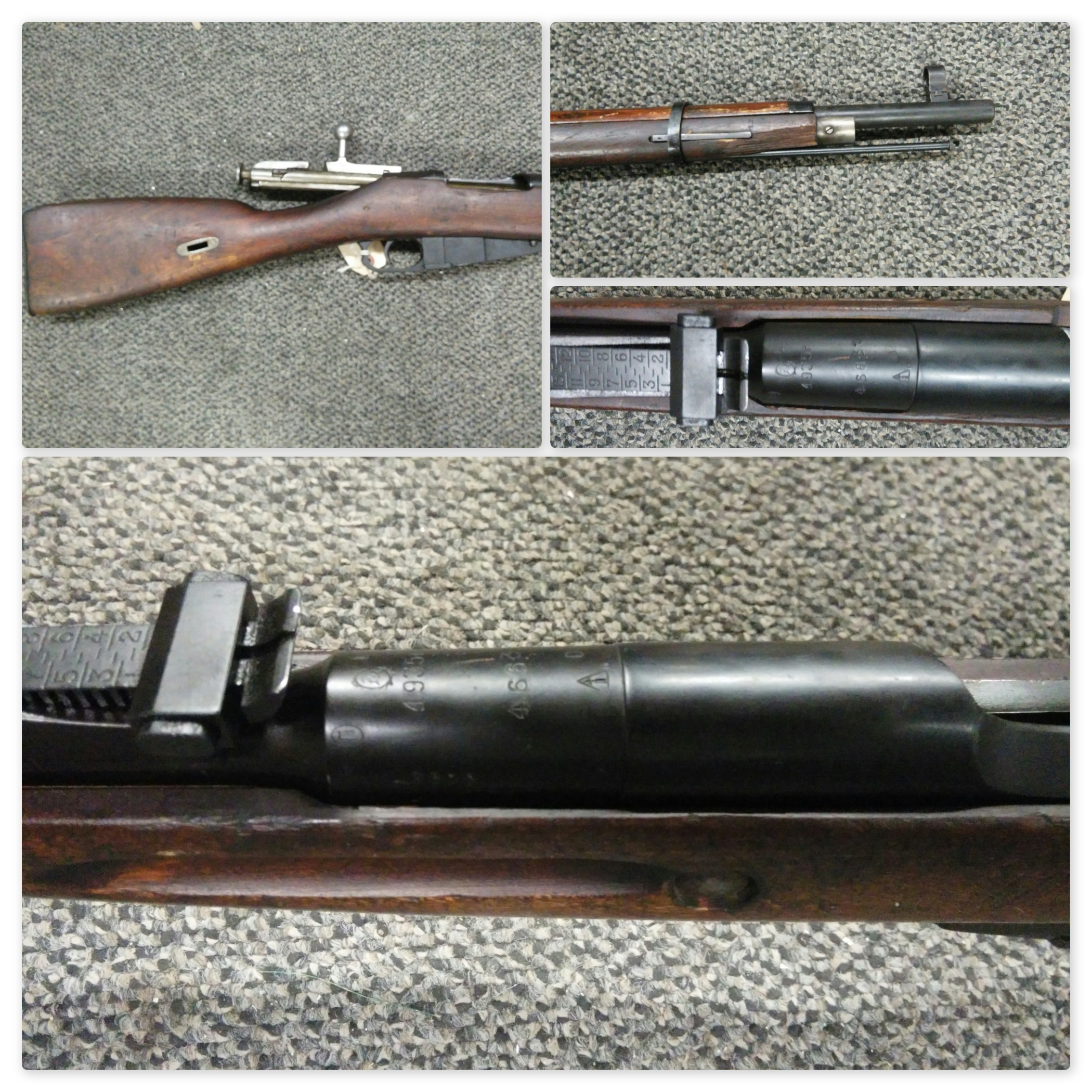 FINNISH CAPTURE Russian M91/30 1935 Izhvesk