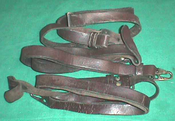 Sling , G3 Rifle , Leather FAIR - USED QTY 3