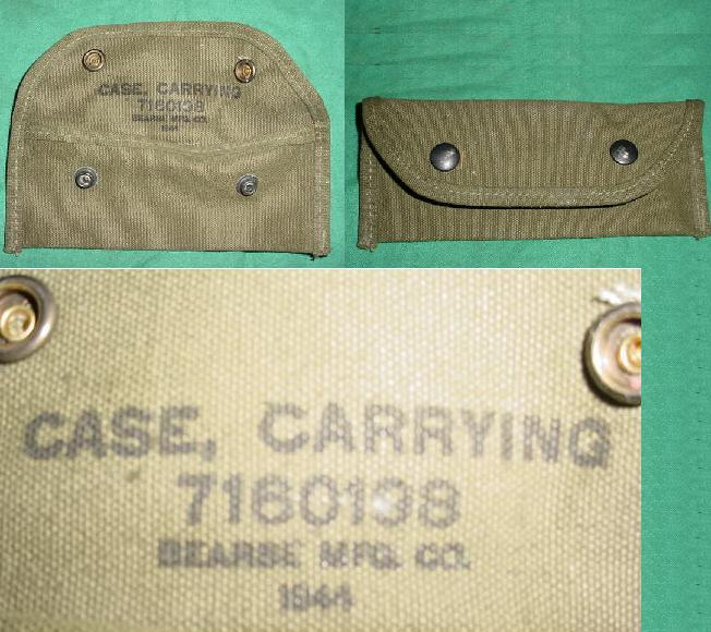 Grenade Sight Case WWII Dated EXCELLENT US GI