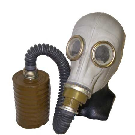 Soviet/East German SchM41M Protective Gas Mask