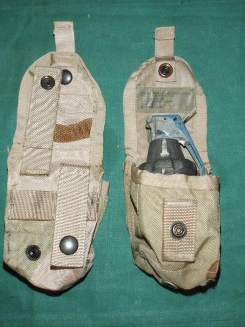 Grenade Pouch US QTY 2