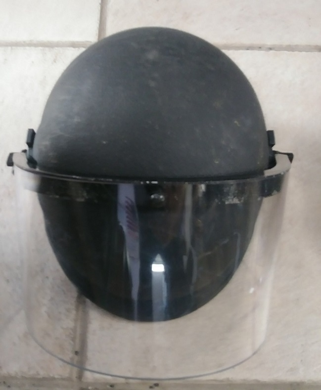 RIOT HELMET GRADE 1 - LEVEL IIIA