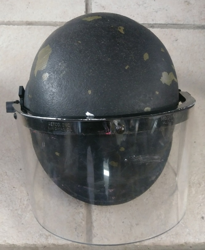 RIOT HELMET GRADE 2 - LEVEL IIIA