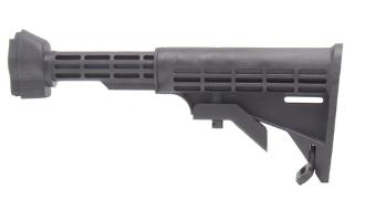 HK91 G3 T6 Collapsible Stock, Black