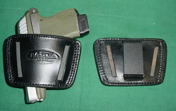 Holster, Inside Waist P32 / P3AT Black Leather