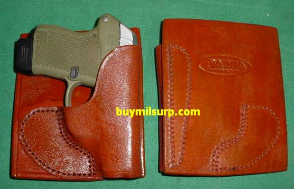 Holster KELTEC P32 / P3AT Leather Pocket Holster BROWN
