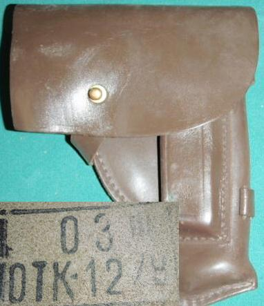 Holster - Russian 9x18 Makarov PM53 Dated 1978