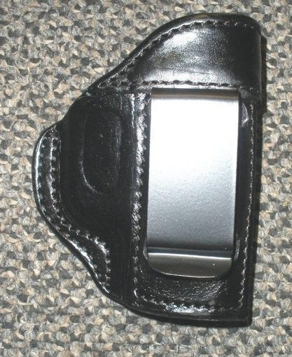 Holster, Inside Pants P32 / P3AT Black Leather