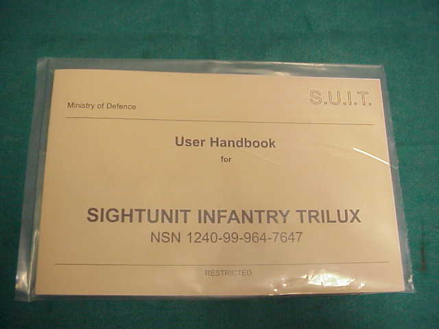 Book, Trilux Sight L1A1 FN FAL Rifle